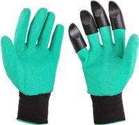 Gartenhandschuhe mit Krallen | 1 Paar | Wasserdicht | Einheitsgröße | Gartenarbeit | Handschuhe | Arbeitshandschuhe