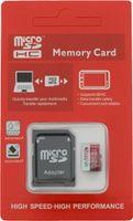 micro SD Karte Class10 U3+ADAPTER bis 100MBs Speicherkarte 32GB