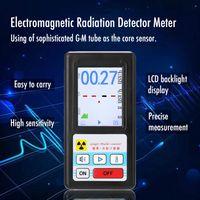 Bildschirm Geigerzaehler Nuklearstrahlungsdetektor Persoenliches Dosimeter Marmordetektoren Beta-Gamma-Roentgentester