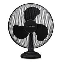 TROTEC Tischventilator TVE 18 3 Ventilationsstufen 90°-Oszillation Ventilatorflügeldurchmesser 40cm