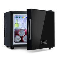 Klarstein Frosty Minibar Mini-Kühlschrank, kompakt, freistehend, Thermoelektrisches Kühlsystem, 10 Liter Fassungsvermögen, Kühlung: 12 - 18 °C, , 33 dB, schwarz