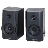 LogiLink SP0028 - 2-Wege - 2.0 Kanäle - Verkabelt - 5 W - 250 - 20000 Hz - Schwarz LogiLink