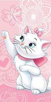 Disney Aristocats Katze Marie - Handtuch Badehandtuch Badetuch XXL Strandtuch