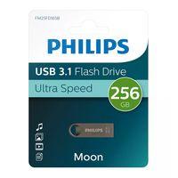 Philips USB-Stick Moon Edition Aluminium USB 3.1 Laufwerk 256 GB Speicherkapazität
