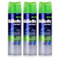 Gillette Series Rasiergel Sensitiv für empfindliche Haut 200ml (3er Pack)