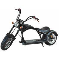Elektroroller 45 KM/h, E-Roller, Elektrochopper C9-2.0 Mr. Harley schw