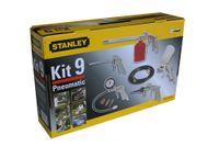 Stanley Multi - Druckluftzubehör Kit 9: Reifenfüller, Ausblaspistole, Farbsprühpistole