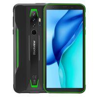 Blackview BV6300 Pro Handys, Robustes Smartphone Helio P70 6GB + 128GB 4380 mAh Android 10.0 NFC IP68 Wasserdicht Handy (Grün)