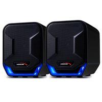 Kompakt Mini Stereo Lautsprecher Computer Laptop Notebook Desktop Boxen USB AUX