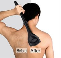 Körperhaar und Rückenrasierer Rasierer Arm Körperrasur Männer Körperrasierer