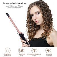 9mm Hair Curling Wands Professionelles Lockenstab Keramik Haareisen für langes und kurzes Haar