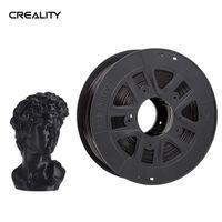 Creality 3D 1 kg PLA-Filament für Creality 3D-Drucker Ender-Serie Erfahrung 1,75 mm Maßgenauigkeit 0,02 mm, Schwarz