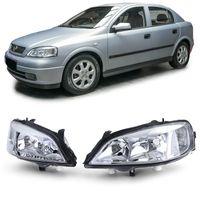 Scheinwerfer Paar Links Rechts für Opel Astra G 98-04