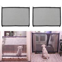 2 Stücke Hundebarrieren Hundelaufstall Treppenschutzgitter Türschutzgitter Dog Gate Safe Guard für Hund oder Katze