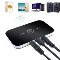 2 IN  1 Bluetooth 5.0 Transmitter Empfänger Wireless Sender Audio Video Adapter Aux TV DHL@#