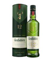 Glenfiddich 12 Jahre Single Malt Scotch Whisky in Geschenkpackung   40 % vol   0,7 l