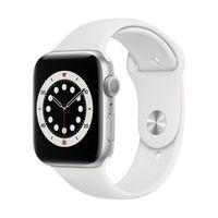Apple Watch Series 6 GPS 44mm Silver Alu Case White Sport Band
