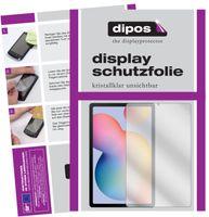 2x Samsung Galaxy Tab S6 Lite Schutzfolie klar Displayschutzfolie Folie Display