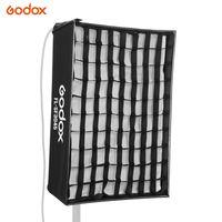 Godox FL-SF3045 Softbox-Kit mit Wabengitter Tragetasche aus weichem Stoff für Godox FL60 Flexibles LED-Licht Roll-Flex-Fotolicht für Videoaufnahmen Produktfotografie im Hochformat