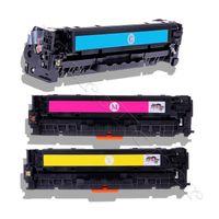 3er Color Pack Toner Kompatibel zu HP CF 211A , CF 212A , CF 213A , 131X , 131A für HP LaserJet Pro 200 Pro200 Color M 251 , M 251N , M 276 , M 276N / LaserJet Pro 200 Color M251 M251N M276 M276N Kompatibel (C/Y/M)