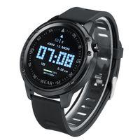 【Schwarz】Meco Smartwatch Smart Armband EKG+PPG Fitness Tracker personalisiertem Bildschirm, Musiksteuerung, Herzfrequenz