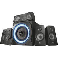 TRUST GXT 658 Tytan 5.1 Surround Speaker System Lautsprecherset Subwoofer LED