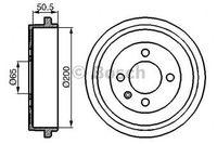 Bosch Bremstrommel  0 986 477 106