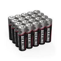 40x ANSMANN Alkaline Batterie AA Mignon 1,5V - LR6 AM3 MN1500 (40 Stück)