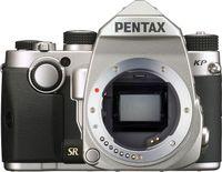 Pentax KP, 24,35 MP, 6016 x 4000 Pixel, CMOS, Full HD, 643 g, Schwarz, Silber