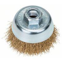 Bosch 2609256500, Cup brush, Metall, Edelstahl, 70 mm