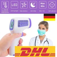 Infrarot berührungsloses Digital LCD Infrarot Fieberthermometer Stirnthermometer Kontaktloses Thermometer Thermometer