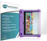 """2x Slabo Displayschutzfolie für Amazon Fire HD 8 Kids Edition-Tablet 10. Generation (2020) KLAR """"Crystal Clear"""" (verkleinerte Folien) Displayfolie Schutzfolie Folie"""