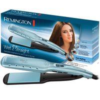 REMINGTON Haarglätter Wet-2-Straight Wide Plate S7350 Glätteisen mit breiten Platten
