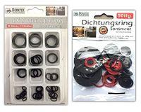 100tlg. Sanitär Dichtungsringe Sortiment Gummidichtung O-Ring Gummi Dichtringe