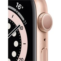 Apple Watch Series 6 GPS 44mm Gold Alu Case Pink Sport Band