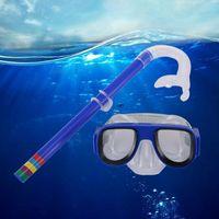 Kinder Schnorchelmaske Taucherbrille Schnorchelset Tauchermaske Schwimmbrillen H