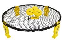Bounce Ball Deluxe Set Roundnet Ballspiel mit Rundnetz Spielbällen Tragetasche