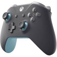 MICROSOFT XBox Wireless Blue-Grey Gamepad Xbox One, PC Grau, Blau