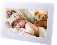 Denver Digitaler Bilderrahmen 25,6cm (10,1 Zoll) Frameo, 8GB Speicher, Touchscreen, Farbe: Weiß