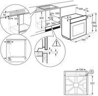 AEG - BPS33102ZM - Einbau-Backofen - Pyrolyse - Edelstahl