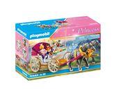 PLAYMOBIL Princess 70449 Romantische Pferdekutsche
