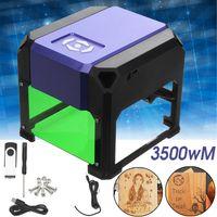 1500MW Laser Graviermaschine 8x8cm Engraving Lasergravierer Schneider Drucker