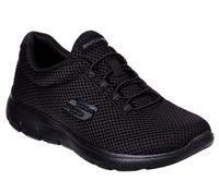 Skechers Summits Damen Sneaker Schwarz Schuhe, Größe:40