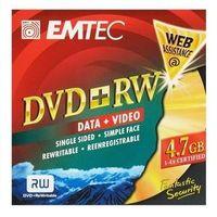 Emtec Dvd+rw 4.7GB DVD+RW, 4,7 GB, 120 min