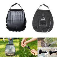 Schlauch Griffstange und Seil zum Aufh/ängen Solardusche Duschsack,Campingdusche Solar,20L Tragbare Solar Gartendusche Outdoor mit Duschkopf,mit Duschkopf