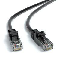 JAMEGA - 20m CAT.6 Netzwerkkabel (RJ45) Patchkabel Ethernet Lan| 1Gbit/s | 250MHz | kompatibel zu CAT.5 / CAT.5e / CAT.6 | schwarz