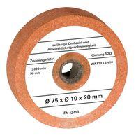 Einhell Schleifscheibe für Doppelschleifer Ø75xØ10x20mm G120