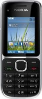 "Nokia C2-01 Handy (5,1 cm (2 Zoll), 3,2 Megapixel Kamera) schwarz """""