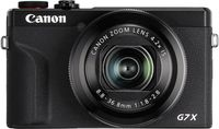 Canon PowerShot G7X Mark III, 20,1 MP, 5472 x 3648 Pixel, CMOS, 4,2x, 4K Ultra HD, Schwarz