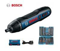 Bosch Go 2 Elektro Schraubendreher wiederaufladbare automatische Schraubendreher + Makita Bit-Set 43teilig